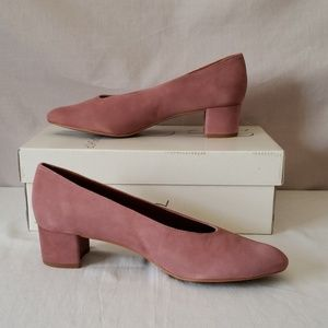 Topshop Pink Jury Leather shoes - Made in Spain